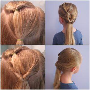 peinado triple