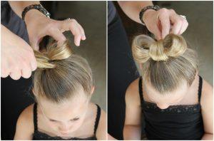 peinado de tres